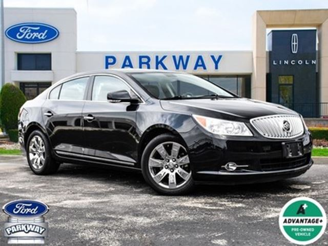 2010 BUICK LACROSSE CXS  LOADED  LEATHER  SUNROOF  ACCIDENT FREE in Waterloo, Ontario
