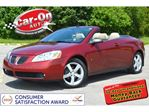 2008 Pontiac G6 GT Convertible LEATHER LOADED ONLY 57,000 KM in Ottawa, Ontario
