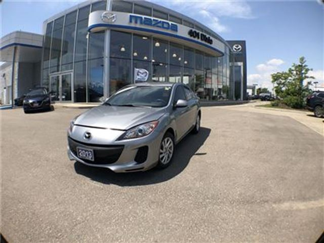 2013 MAZDA MAZDA3 Sport GS-SKY, NOACCIDENTS, ALLOY WHEELS, BLUETOOTH in Mississauga, Ontario
