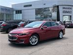 2017 Chevrolet Malibu LT One owner, accident free in Mississauga, Ontario