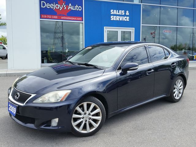 2009 LEXUS IS 250 RWD in Brantford, Ontario