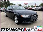 2014 Audi A4 Progressive-Quattro-GPS-Camera-Brown Leather-XM- in London, Ontario