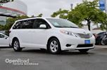 2015 Toyota Sienna Heated front seats, Back-up camera, A/C, Blueto in Richmond, British Columbia
