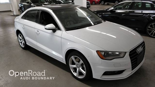 2015 AUDI A3 4dr Sdn FrontTrak 1.8T Komfort FINANCE FOR AS L in Vancouver, British Columbia