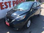 2017 Nissan Versa 1.6 SV HEATED SEATS, ALLOY WHEELS, BACK UP CAMERA in Oshawa, Ontario