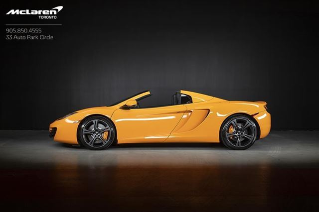 2013 MCLAREN MP4-12C Spyder in Woodbridge, Ontario
