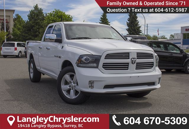2014 DODGE RAM 1500 Sport in Surrey, British Columbia
