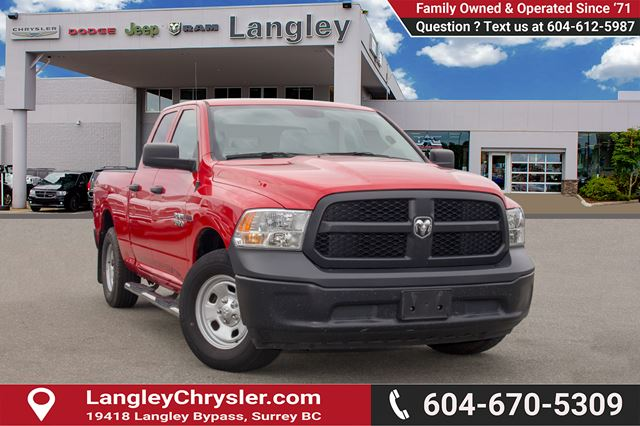 2016 DODGE RAM 1500 ST in Surrey, British Columbia