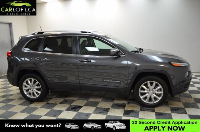 2017 JEEP CHEROKEE Limited- NAV * LEATHER * UCONNECT in Kingston, Ontario