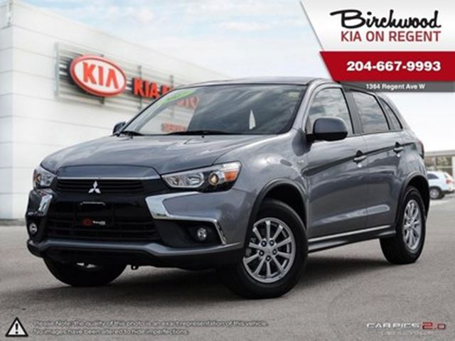 2017 MITSUBISHI RVR SE **AWD, Bluetooth, Back up Camera & More in Winnipeg, Manitoba