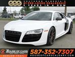 2010 Audi R8 5.2 V10 / Carbon Package / Capristo Exhaust in Calgary, Alberta