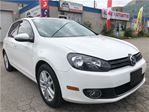 2011 Volkswagen Golf 2.5L Highline w/Navi_Leather_Sunroof in Oakville, Ontario