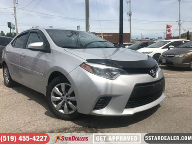 2014 TOYOTA COROLLA LE   CAR LOANS FOR ALL CREDIT in London, Ontario