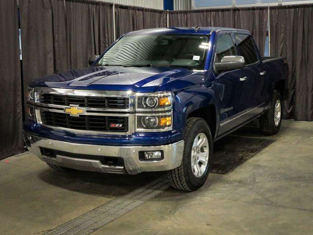 2014 CHEVROLET SILVERADO 1500 LTZ Z71, 4x4 QUAD CAB, in Red Deer, Alberta