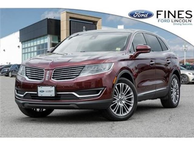 2016 LINCOLN MKX Reserve in Bolton, Ontario