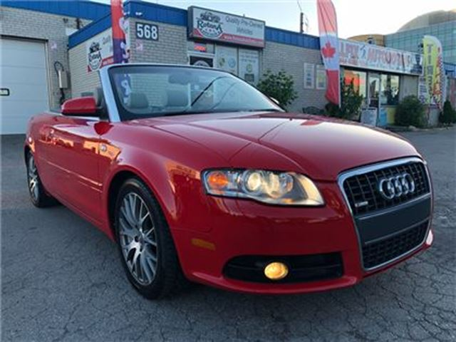 2009 Audi A4 2.0T  S-Line w/ Navigation_Leather_low KMs in Oakville, Ontario