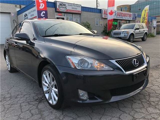 2009 Lexus IS 250 NAVIGATION_BACKUP CAM_LEATHER_SUNROOF in Oakville, Ontario
