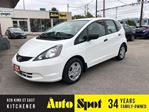 2013 Honda Fit DX-A/POPULAR CAR/PRICED-QUICK SALE in Kitchener, Ontario