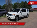2014 Nissan Armada Platinum; LEATHER, NAV, DVD, 7 PASS, 4x4, HEATED SEATS/WHEEL in Edmonton, Alberta