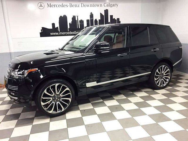 2015 LAND ROVER RANGE ROVER 5.0L V8 Supercharged Autobiography in Calgary, Alberta