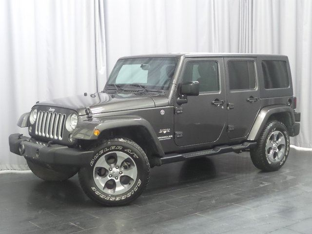 2017 JEEP WRANGLER Unlimited Sahara 4WD*Accident Free/Local Jeep* in Winnipeg, Manitoba