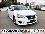 2014 Nissan Sentra SR+Camera+GPS+Sunroof+Heated Seats+Fog Lights+XM++ in London, Ontario
