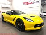 2014 Chevrolet Corvette Z51 3LT HUD NPP Carbon Fiber Exposed Roof in St George Brant, Ontario