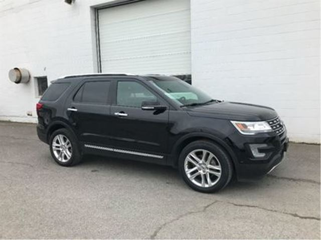 2017 FORD Explorer Limited-Blind Spot Monitoring, Lane keep assist in Ottawa, Ontario