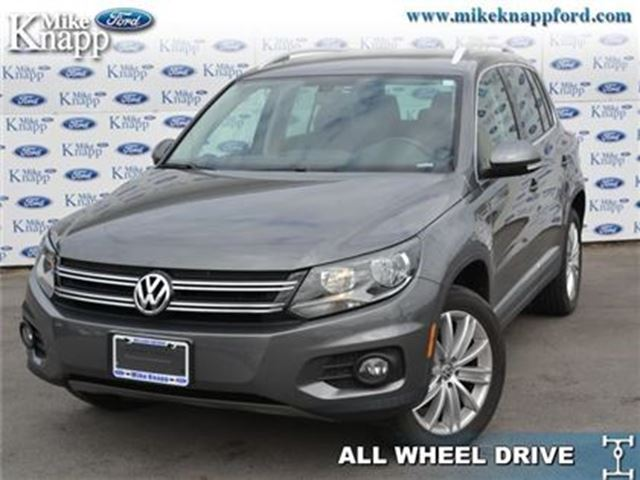 2012 VOLKSWAGEN TIGUAN Highline - Sunroof -  Leather Seats in Welland, Ontario