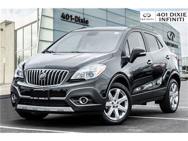 2015 BUICK ENCORE 2015! LOW KMS! NAVI! LEATHER! NO ACCIDENTS! in Mississauga, Ontario