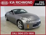 2008 Nissan 350Z w/Black Top Convertible No Accidents Bose So in Richmond, British Columbia