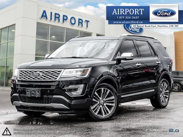 2016 FORD Explorer 4WD Platinum with only 29,715 kms in Hamilton, Ontario