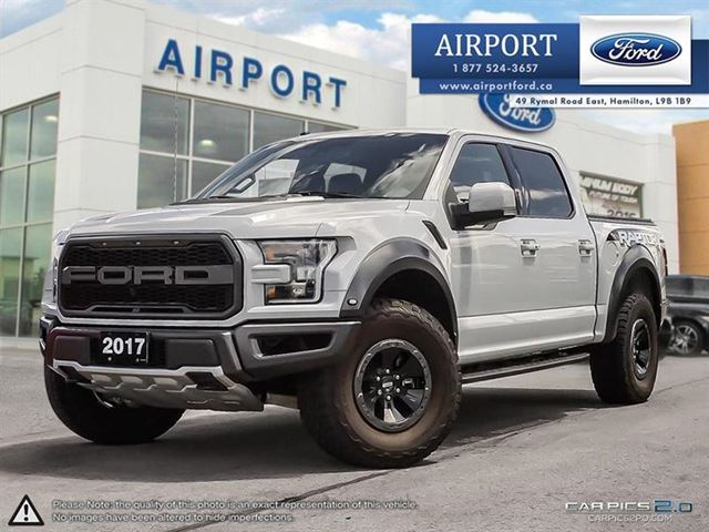 2017 FORD F-150 4WD  RAPTOR  with only 27,483 kms in Hamilton, Ontario