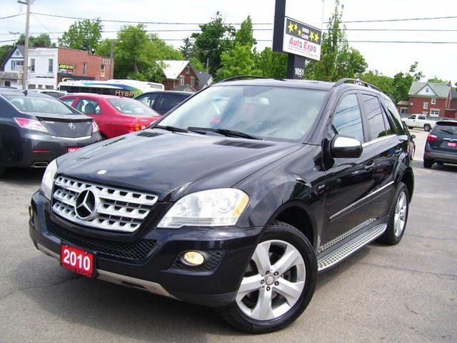 2010 MERCEDES-BENZ M-CLASS Leather,BlueTEC,Bluetooth,Backup Camera,Sunroof in Kitchener, Ontario