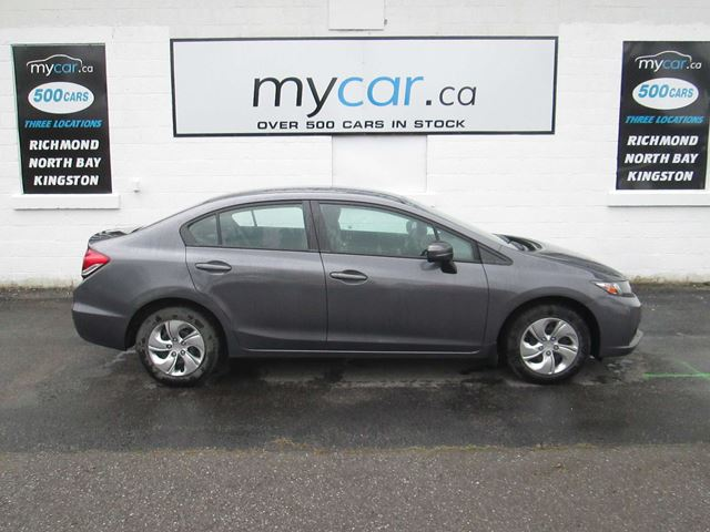 2014 HONDA CIVIC LX LX, AUTO, A/C, HEATED SEATS in North Bay, Ontario