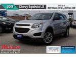 2017 Chevrolet Equinox LS/CLN HSTRY/AWD/REAR CAM/7 SCRN/17S in Milton, Ontario