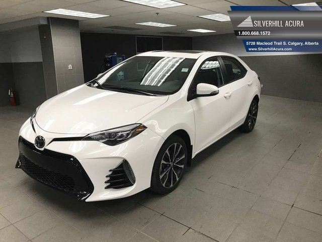 2017 TOYOTA Corolla SE Package *Upgraded Safety Pkg* in Calgary, Alberta