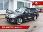 2014 Lexus LX 570 FULLY LOADED, ADAPTIVE CRUISE, NAV, SUNROOF, AIR SUSPENSION, 383 HP, 7 PASS in Edmonton, Alberta
