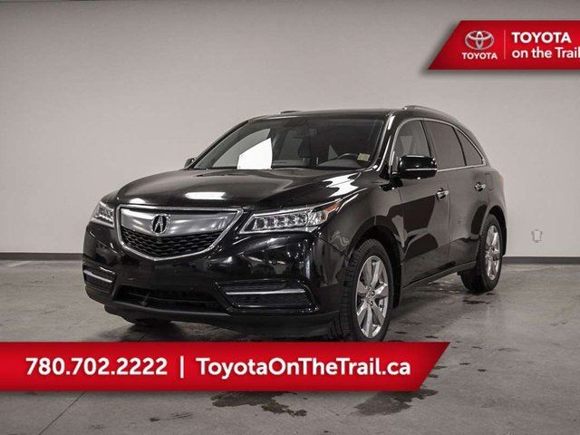 2015 ACURA MDX Elite Pkg 4dr AWD SH-AWD, 3,5 V6, Auto, Leather, Seats 7, DVD, Navigation, USB Port, Bluetooth, Back Up Camera, Tinted Windows. in Edmonton, Alberta