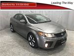 2012 Kia Forte SX   Leather   Sunroof   Winter tire Pckg in Brantford, Ontario