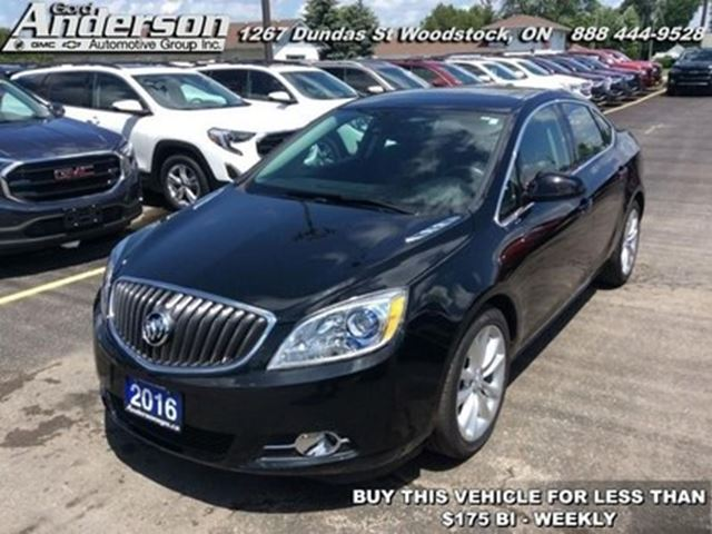 2016 BUICK VERANO Leather - Leather Seats -  Heated Seats in Woodstock, Ontario