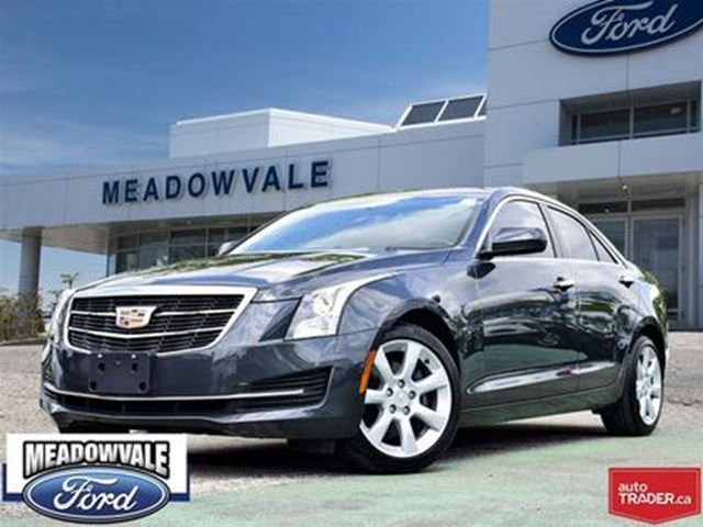 2015 CADILLAC ATS SUNROOF, HEATED SEATS, KEYLESS ENTRY in Mississauga, Ontario