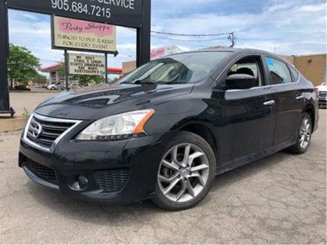 2013 NISSAN SENTRA 1.8 SR NAVIGATION SUNROOF in St Catharines, Ontario
