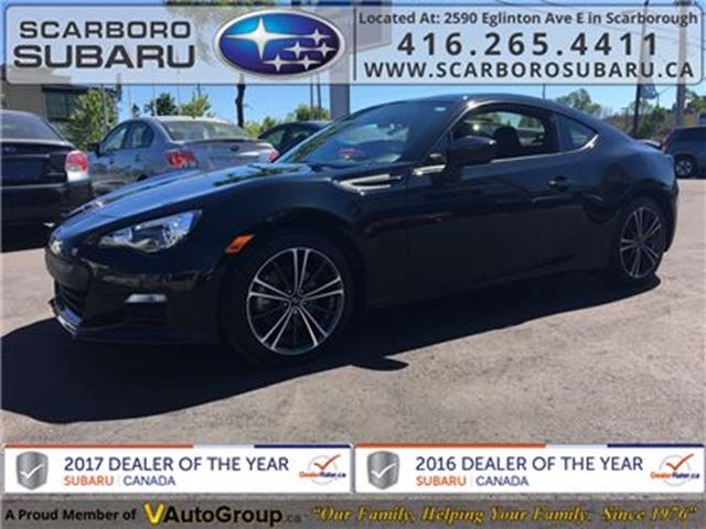 2015 SUBARU BRZ FROM 1.9% FINANCING AVAILABLE in Scarborough, Ontario