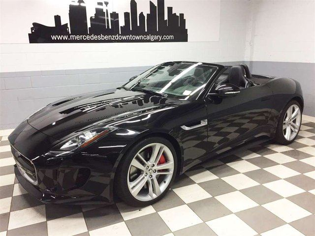 2014 JAGUAR F-TYPE Convertible V8 S in Calgary, Alberta