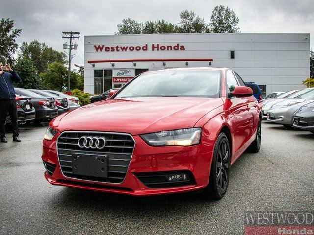 2013 Audi A4 2.0T (Multitronic) in Port Moody, British Columbia