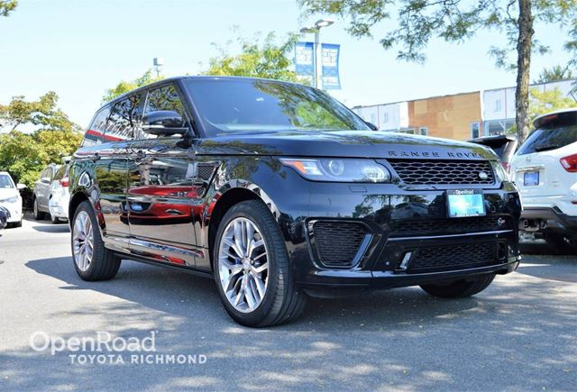 2015 LAND ROVER Range Rover Sport SVR in Richmond, British Columbia