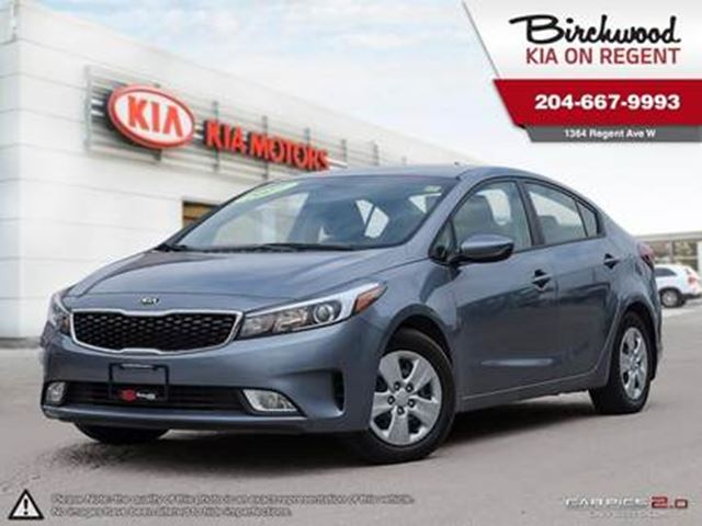 2017 KIA FORTE LX+ **Android Auto, Fog Lights Cruise & More in Winnipeg, Manitoba