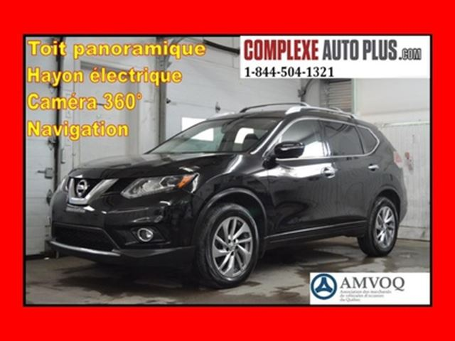 2014 NISSAN Rogue SL Tech AWD 4x4 *Navi/GPS,Cuir,Toit pano. in Saint-Jerome, Quebec