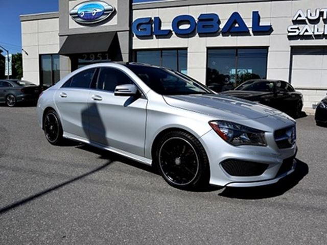 2014 MERCEDES-BENZ CLA250 4MATIC PANOR. ROOF , REV. CAMERA. ONLY 28 K in Ottawa, Ontario